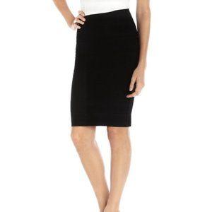 Romeo & Juliet Couture Black Bandage Skirt Small